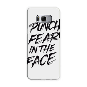 Punch Fear in the Face Black Phone Case Phone kite.ly Samsung S8 Tough Gloss