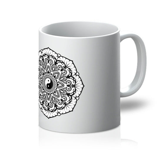 Mandala Mug Mug kite.ly 11oz