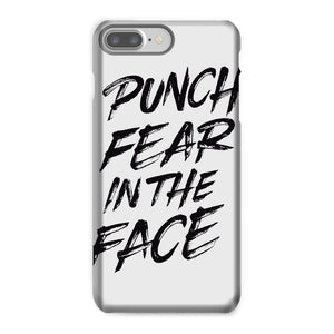 Punch Fear in the Face Black Phone Case Phone kite.ly iPhone 7 Plus Snap Gloss