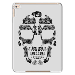 Kitten Skull Black Tablet Cases Tablet kite.ly iPad Air 2 Matte