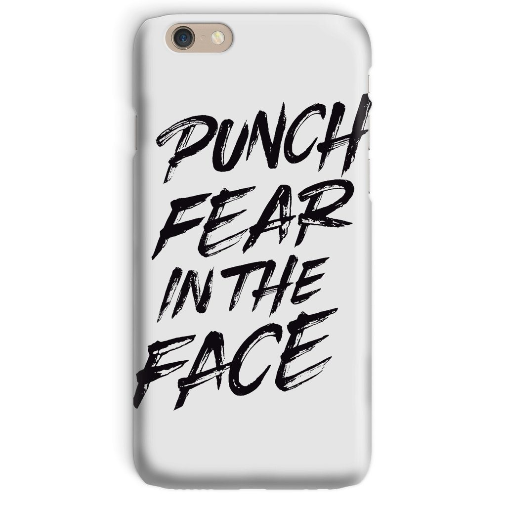 Punch Fear in the Face Black Phone Case Phone kite.ly iPhone 6 Snap Gloss