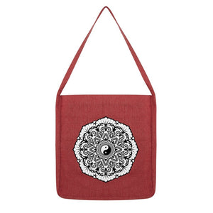 Mandala Tote Bag Bag kite.ly Melange Red