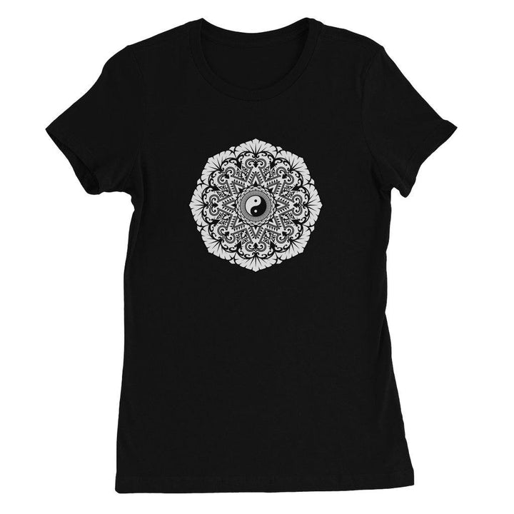 Mandala Women's Favourite T-Shirt T-Shirt kite.ly S Black