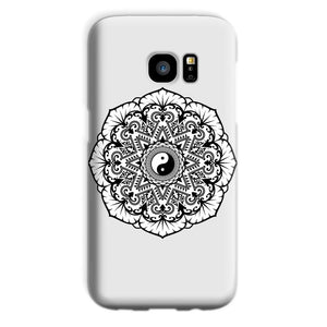 Mandala Phone Case Phone kite.ly Galaxy S7 Snap Gloss