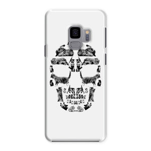 Kitten Skull Black Phone Case Phone kite.ly Samsung Galaxy S9 Snap Gloss
