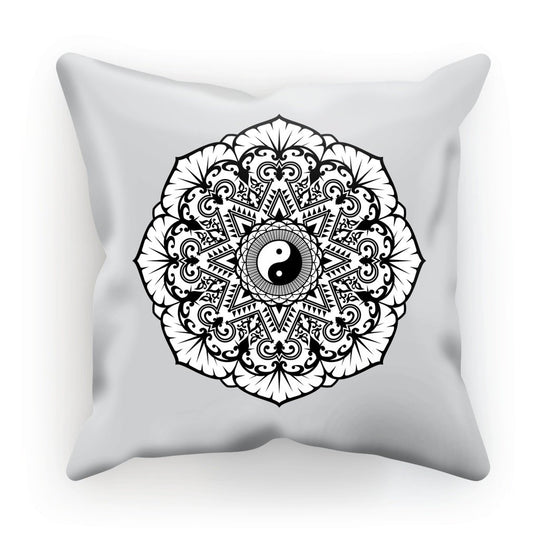 Mandala Cushion Cushion kite.ly Linen 12