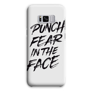 Punch Fear in the Face Black Phone Case Phone kite.ly Samsung S8 Plus Snap Gloss