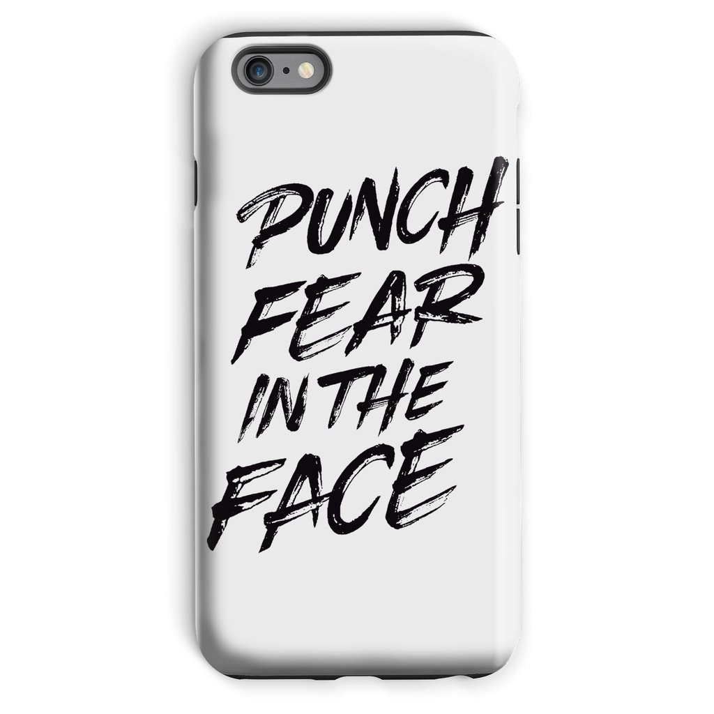 Punch Fear in the Face Black Phone Case Phone kite.ly iPhone 6 Plus Tough Gloss