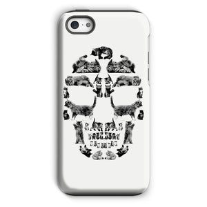 Kitten Skull Black Phone Case Phone kite.ly iPhone 5c Tough Gloss