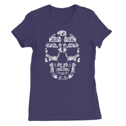 Kitten Skull White Women's Favourite T-Shirt
