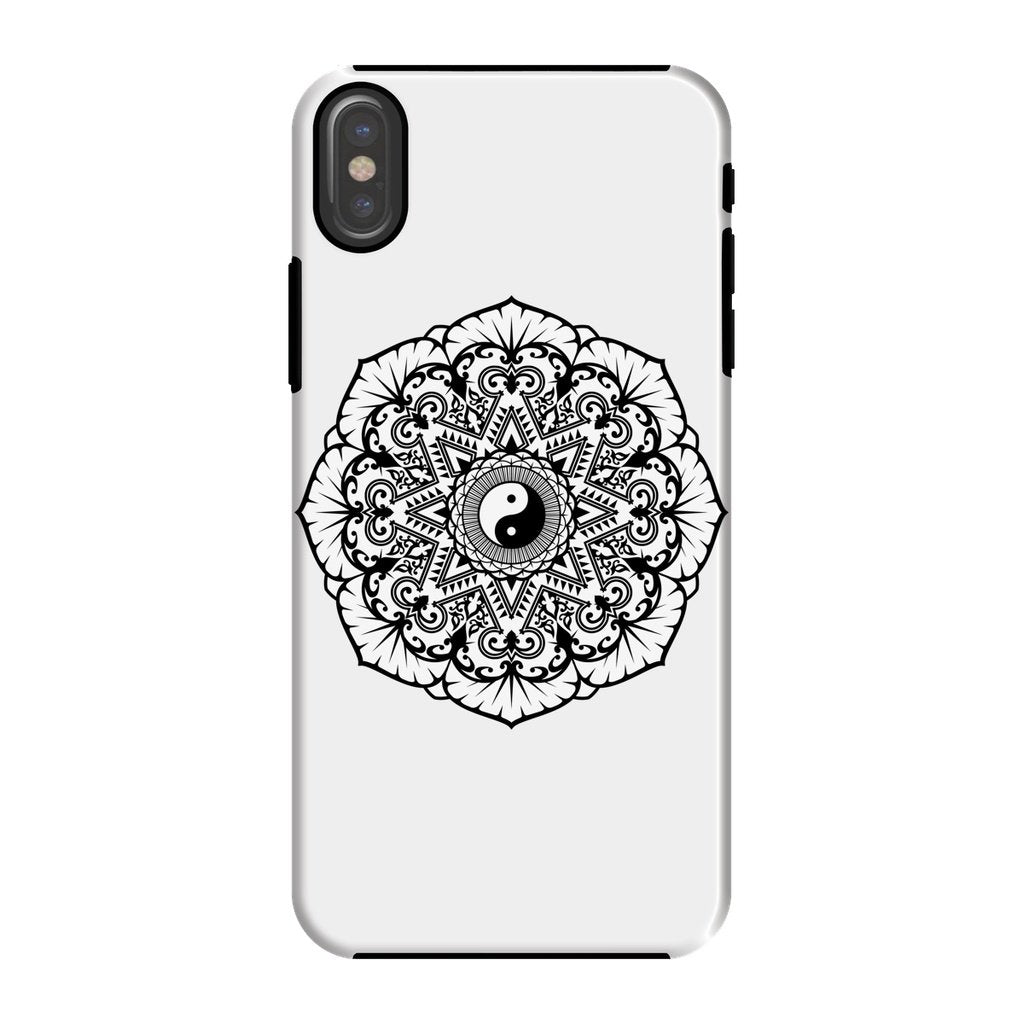 Mandala Phone Case Phone kite.ly iPhone X Tough Gloss