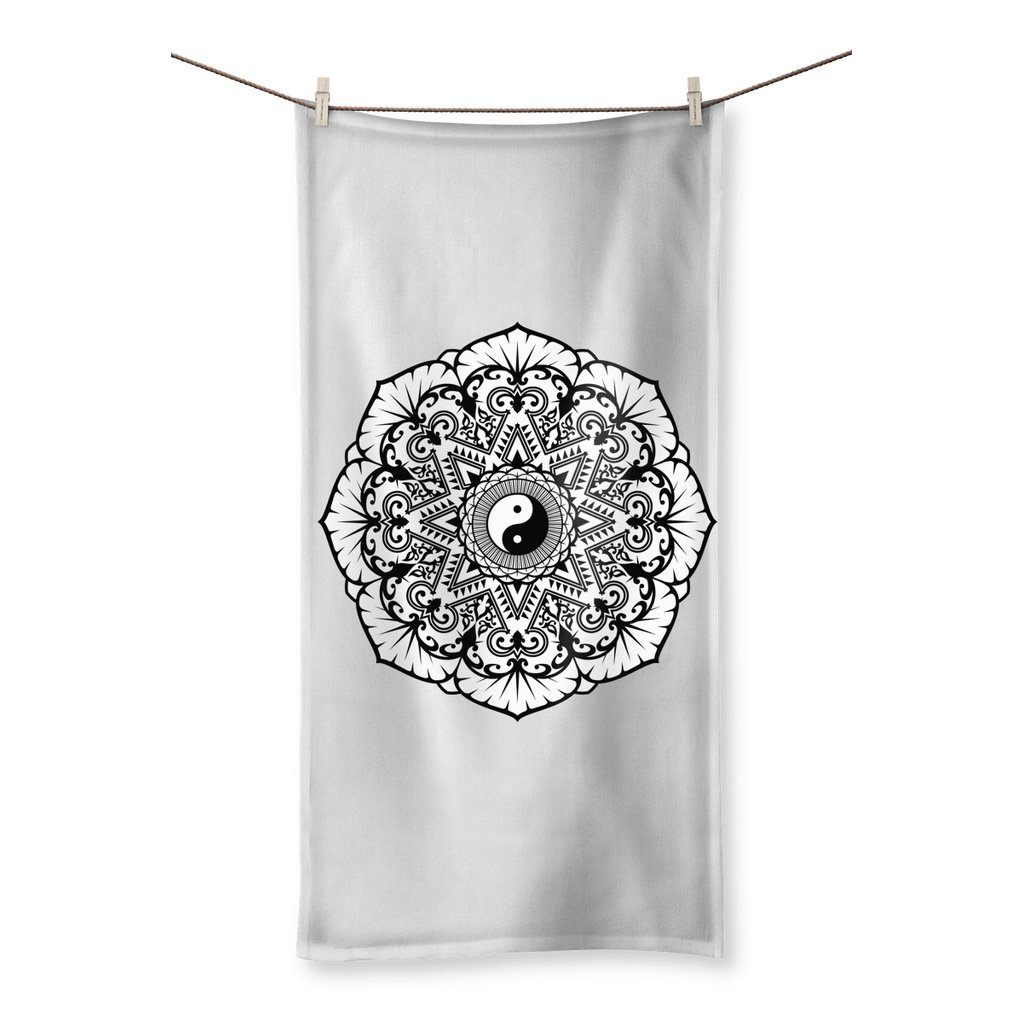 "Mandala Towel Towel kite.ly 19.7""x39.4"""