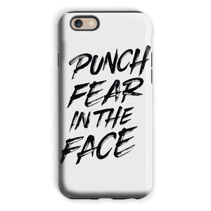 Punch Fear in the Face Black Phone Case Phone kite.ly iPhone 6s Tough Gloss