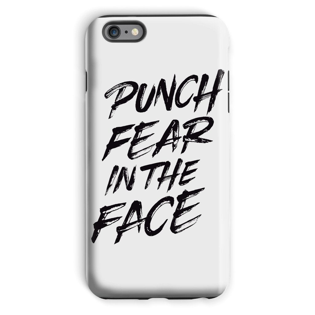 Punch Fear in the Face Black Phone Case Phone kite.ly iPhone 6s Plus Tough Gloss