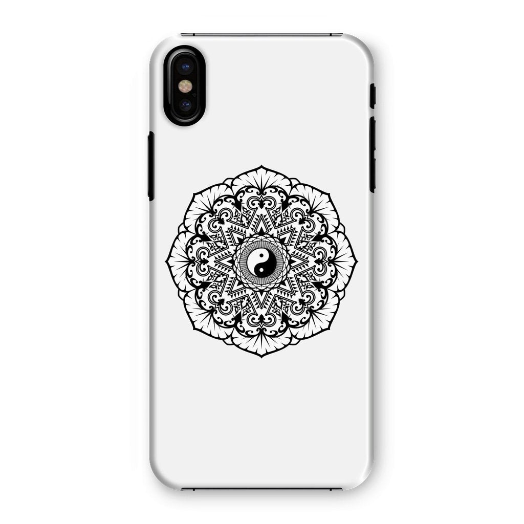 Mandala Phone Case Phone kite.ly iPhone XS Snap Gloss