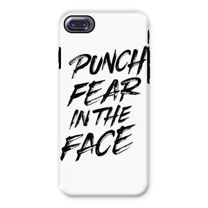 Punch Fear in the Face Black Phone Case Phone kite.ly iPhone 7 Tough Gloss