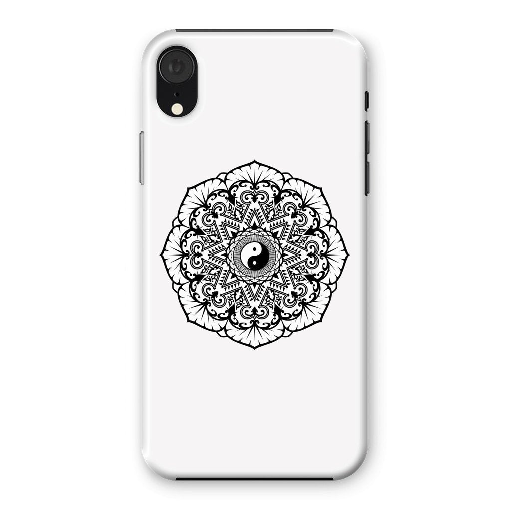 Mandala Phone Case Phone kite.ly iPhone XR Snap Gloss