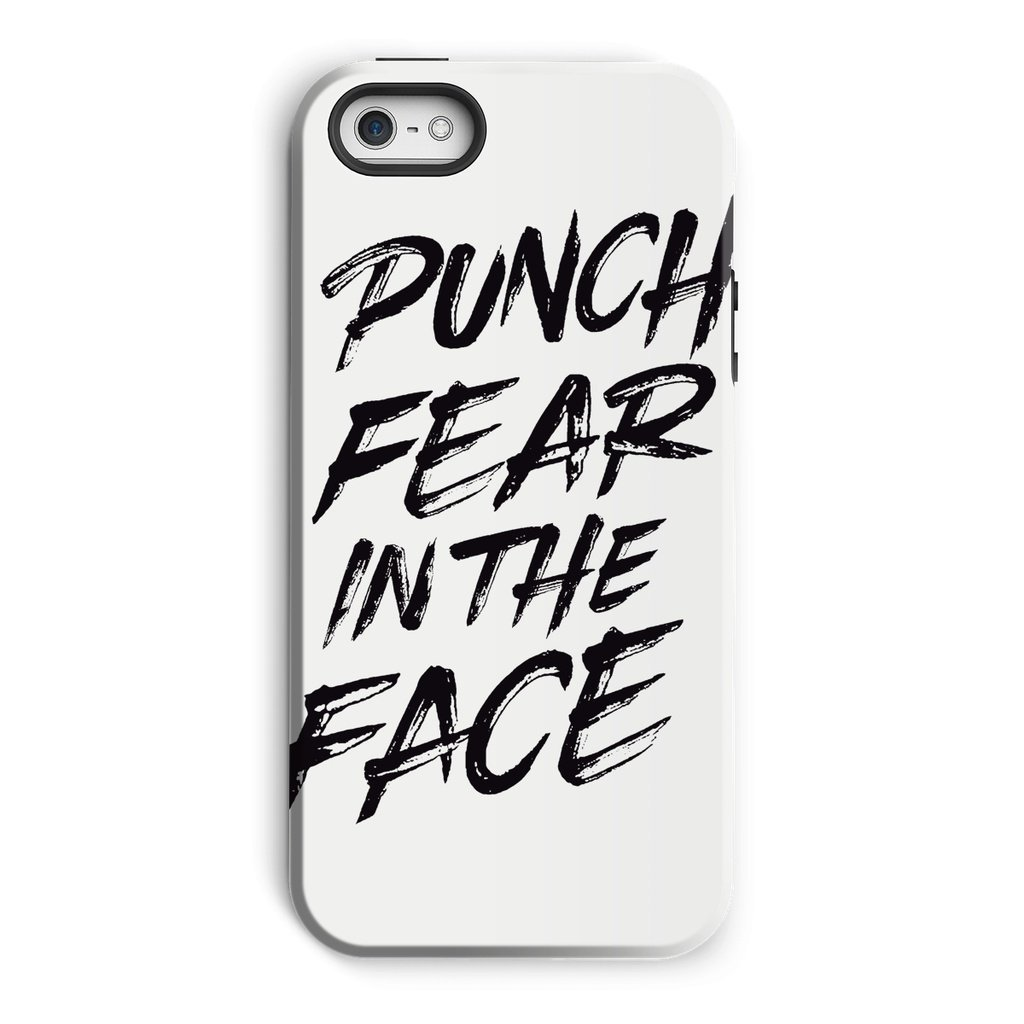 Punch Fear in the Face Black Phone Case Phone kite.ly iPhone 5/5s Tough Gloss