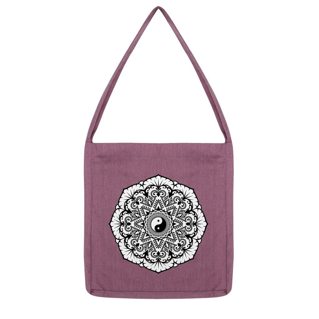 Mandala Tote Bag Bag kite.ly Melange Plum