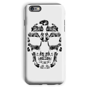 Kitten Skull Black Phone Case Phone kite.ly iPhone 6 Plus Tough Gloss