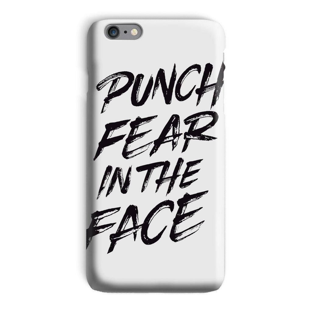 Punch Fear in the Face Black Phone Case Phone kite.ly iPhone 6 Plus Snap Gloss