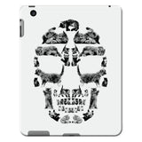 Kitten Skull Black Tablet Cases