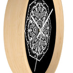 Load image into Gallery viewer, Mandala Black - Wall clock Wall Clock Printify