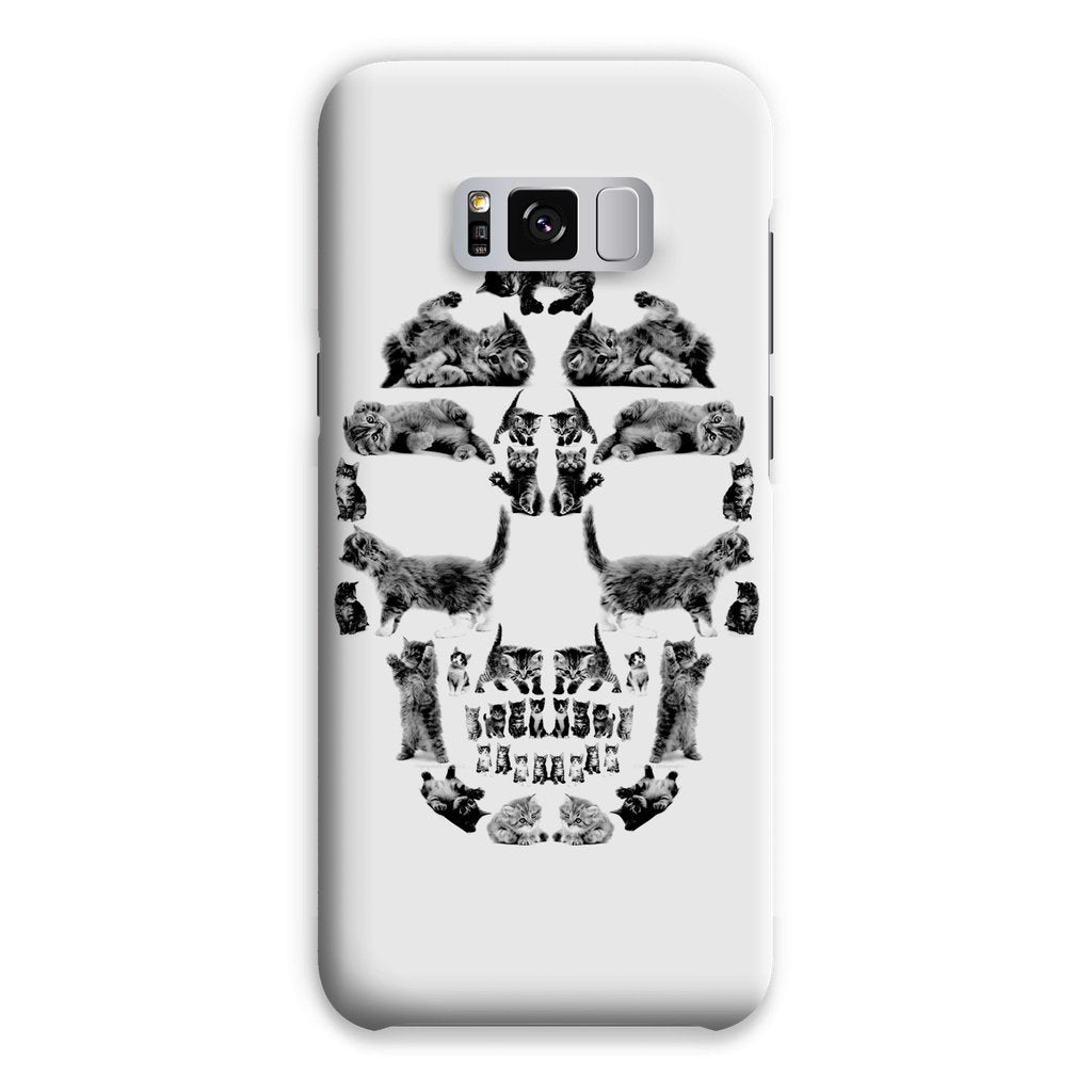 Kitten Skull Black Phone Case Phone kite.ly Samsung S8 Plus Snap Gloss