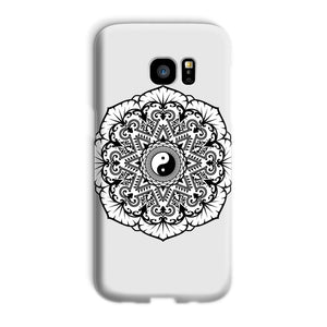 Mandala Phone Case Phone kite.ly Galaxy S7 Edge Snap Gloss