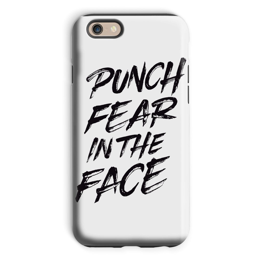 Punch Fear in the Face Black Phone Case Phone kite.ly iPhone 6 Tough Gloss
