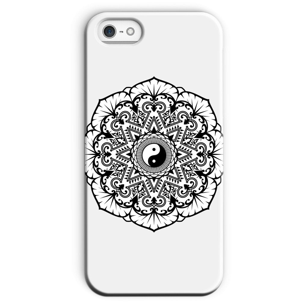 Mandala Phone Case Phone kite.ly iPhone SE Snap Gloss