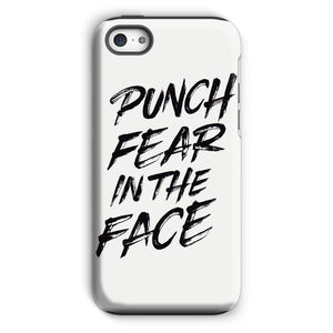 Punch Fear in the Face Black Phone Case Phone kite.ly iPhone 5c Tough Gloss