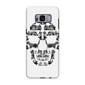 Kitten Skull Black Phone Case Phone kite.ly Samsung S8 Plus Tough Gloss