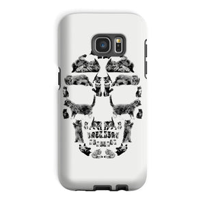 Kitten Skull Black Phone Case Phone kite.ly Galaxy S7 Edge Tough Gloss