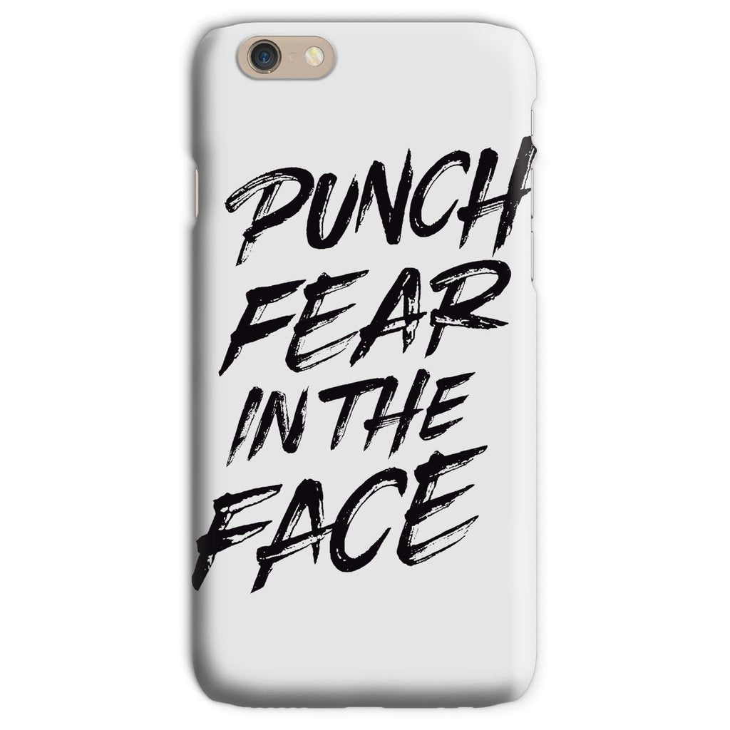 Punch Fear in the Face Black Phone Case Phone kite.ly iPhone 6s Snap Gloss