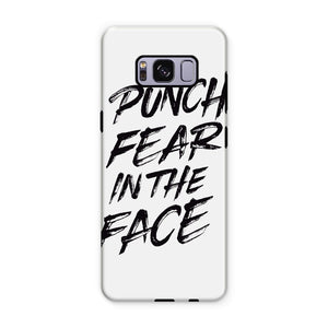 Punch Fear in the Face Black Phone Case Phone kite.ly Samsung S8 Plus Tough Gloss