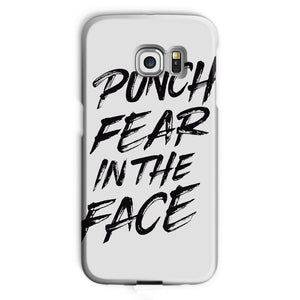 Punch Fear in the Face Black Phone Case Phone kite.ly Galaxy S6 Edge Snap Gloss
