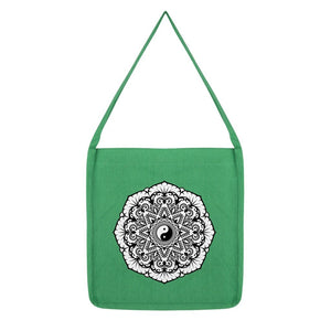 Mandala Tote Bag Bag kite.ly Melange Green