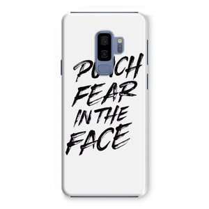Punch Fear in the Face Black Phone Case Phone kite.ly Samsung Galaxy S9+ Snap Gloss