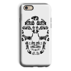 Kitten Skull Black Phone Case Phone kite.ly iPhone 6 Tough Gloss