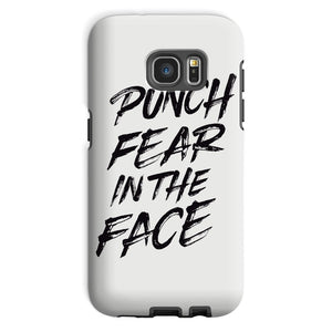 Punch Fear in the Face Black Phone Case Phone kite.ly Galaxy S7 Tough Gloss