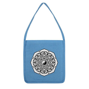 Mandala Tote Bag Bag kite.ly Melange Mid Blue