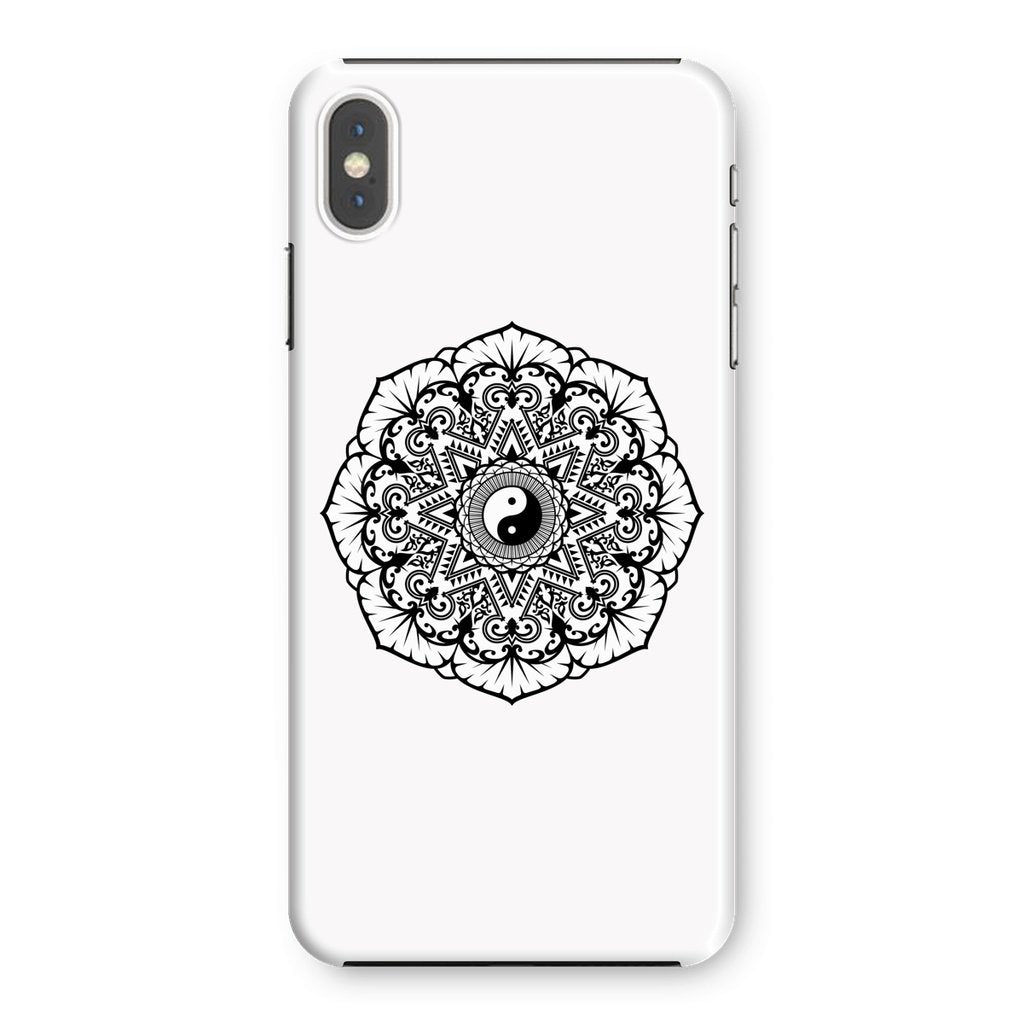 Mandala Phone Case Phone kite.ly iPhone XS Max Snap Gloss
