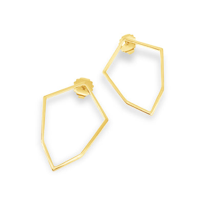 Morton Shield Stud Earrings