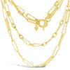 Shubert Long Link Double Necklace