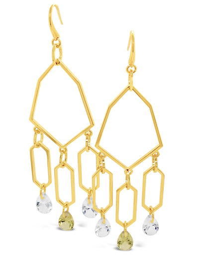 Forsyth Stone Drop Chandelier Earrings