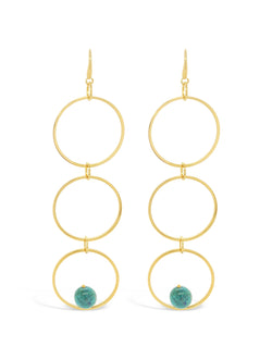 Ashby Triple Hoop Earrings