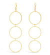 Carlisle Multi Ring Drop Earring
