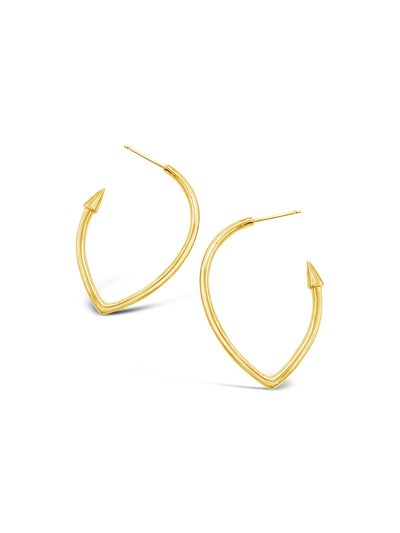 Fenton Hoop Earrings
