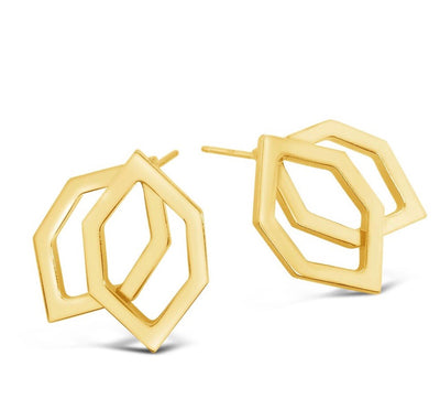 Stanton Geo Stud Earrings